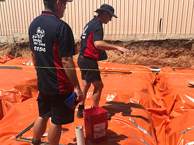 Termite Barrier for New Homes
